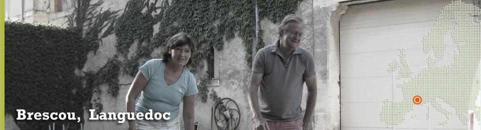 Vingården Domaine de Brescou