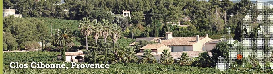Vingården Clos Cibonne i Provence